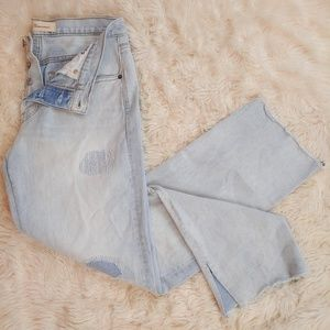GAP Vintage Straight Jeans Button Fly 29T Tall